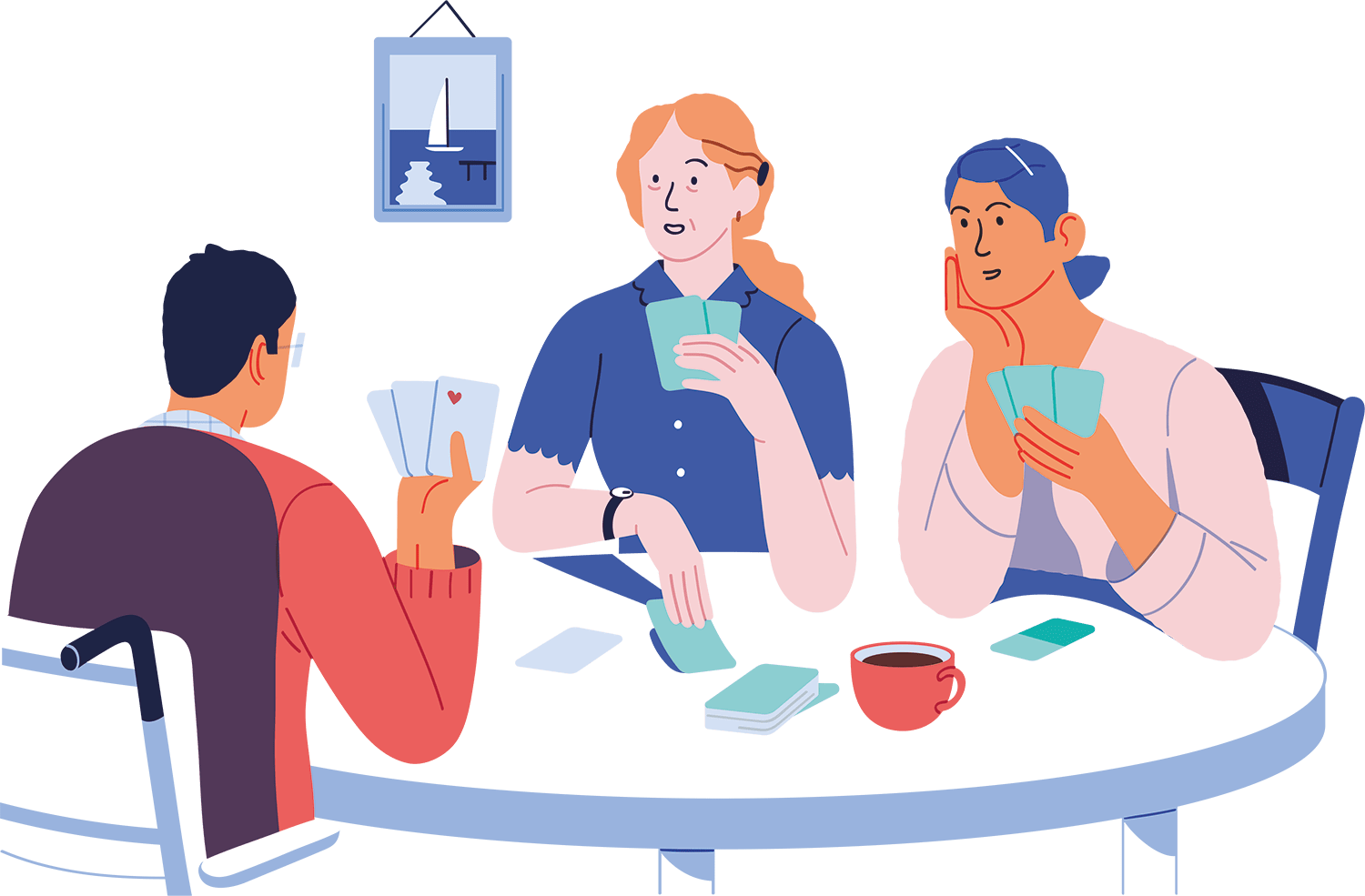 Playing card animation